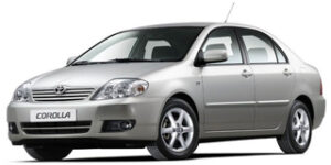 Corolla IX (E120, E130) рестайлинг 2004-2007